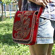 Сумки и аксессуары handmade. Livemaster - original item Leather bag classic. Handmade.