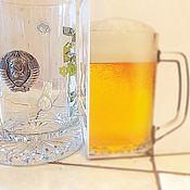 Сувениры и подарки handmade. Livemaster - original item Beer mug