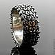 """Кольца ручной работы. Ярмарка Мастеров - ручная работа. Купить Мужское серебряное кольцо """"Protector"""". Handmade. Кольцо, серебряное кольцо"""