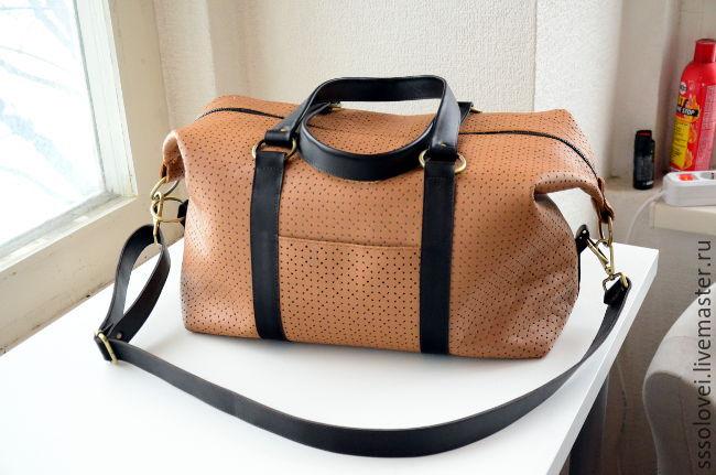 3e96980064e5 Спортивные сумки ручной работы. Ярмарка Мастеров - ручная работа. Купить Дорожная  сумка, размер ...
