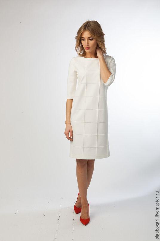 Женское зимнее платье ретро