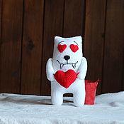 Куклы и игрушки handmade. Livemaster - original item Love the cat. Handmade.
