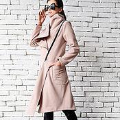Одежда handmade. Livemaster - original item Copy of Copy of Extravagant Long Coat. Handmade.