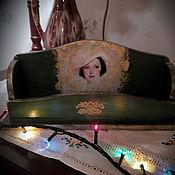 """Для дома и интерьера ручной работы. Ярмарка Мастеров - ручная работа Подставка для мелочей """"Сама женственность"""". Handmade."""