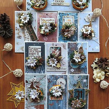 Souvenirs and gifts handmade. Livemaster - original item The advent calendar for 10 days. Handmade.
