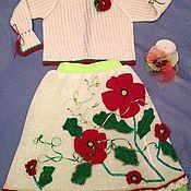 Работы для детей, ручной работы. Ярмарка Мастеров - ручная работа Костюм для девочки. Handmade.