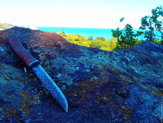 Оружие ручной работы. Ярмарка Мастеров - ручная работа. Купить Нож кованый Скандинавские мотивы. Handmade. Нож, кованые изделия