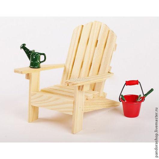 Кукольный дом ручной работы. Ярмарка Мастеров - ручная работа. Купить Садовая мебель для мини сада. Кресла и скамейки.. Handmade.