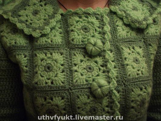 """Верхняя одежда ручной работы. Ярмарка Мастеров - ручная работа. Купить Пальто """"Осень"""" Авторская работа. Handmade. Вязаное пальто"""