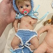Куклы Reborn ручной работы. Ярмарка Мастеров - ручная работа Куклы: Полностью силиконовая кукла ,мини реборн. Handmade.