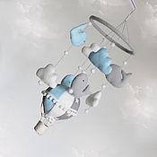 """Для дома и интерьера ручной работы. Ярмарка Мастеров - ручная работа Мобиль в кроватку """"Sky dream"""". Handmade."""