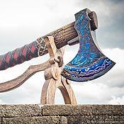 Сувениры и подарки handmade. Livemaster - original item Forged handmade axe Morozko 2.0. Handmade.