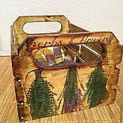 Для дома и интерьера ручной работы. Ярмарка Мастеров - ручная работа Старый короб. Handmade.