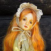 Куклы и игрушки ручной работы. Ярмарка Мастеров - ручная работа Шарнирная кукла Сонечка. Handmade.