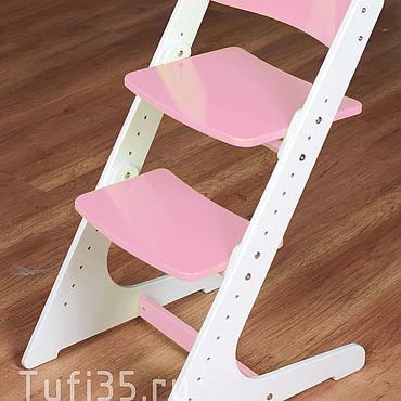 Мебель ручной работы. Ярмарка Мастеров - ручная работа Детский регулируемый растущий стул. Handmade.