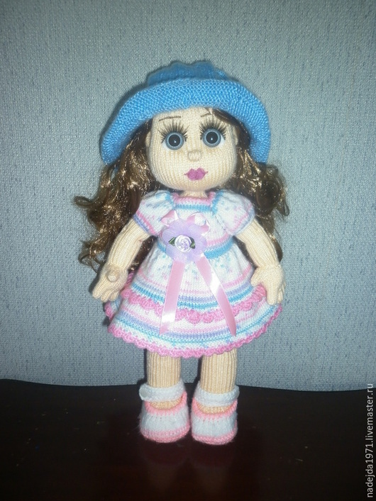 Человечки ручной работы. Ярмарка Мастеров - ручная работа. Купить Кукла ручной работы Машенька. Handmade. Розовый, подарок ребенку