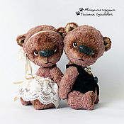 Куклы и игрушки ручной работы. Ярмарка Мастеров - ручная работа Свадебные мишки. Handmade.