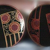 """Посуда ручной работы. Ярмарка Мастеров - ручная работа Тарелки """"Японские веера"""". Handmade."""