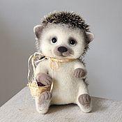 Куклы и игрушки ручной работы. Ярмарка Мастеров - ручная работа ёж Вахмурка. Handmade.
