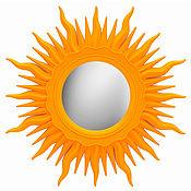 Для дома и интерьера handmade. Livemaster - original item Wall mirror sun. Handmade.