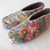 """Обувь ручной работы. Ярмарка Мастеров - ручная работа Тапочки """"Лукерья"""". Handmade."""