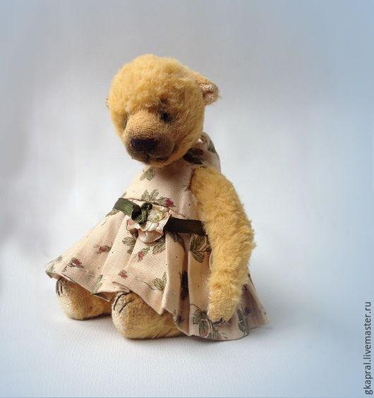 Мишки Тедди ручной работы. Ярмарка Мастеров - ручная работа. Купить Эмили. Handmade. Лимонный, игрушка ручной работы