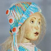 Куклы и игрушки handmade. Livemaster - original item The wooden doll Lulu in a private collection. Handmade.
