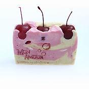 """Косметика ручной работы. Ярмарка Мастеров - ручная работа Натуральное мыло """"Вишня в шоколаде"""". Handmade."""