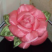 """Для дома и интерьера ручной работы. Ярмарка Мастеров - ручная работа подушка """"Роза"""". Handmade."""