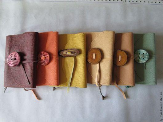 Блокноты ручной работы. Ярмарка Мастеров - ручная работа. Купить Блокноты. Handmade. Блокнот, натуральная кожа, ручная работа, бумага