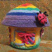 Куклы и игрушки ручной работы. Ярмарка Мастеров - ручная работа Обучающий домик-грибок. Handmade.