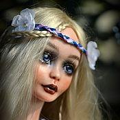 Куклы и игрушки ручной работы. Ярмарка Мастеров - ручная работа Дженис фарфоровая шарнирная кукла. Handmade.
