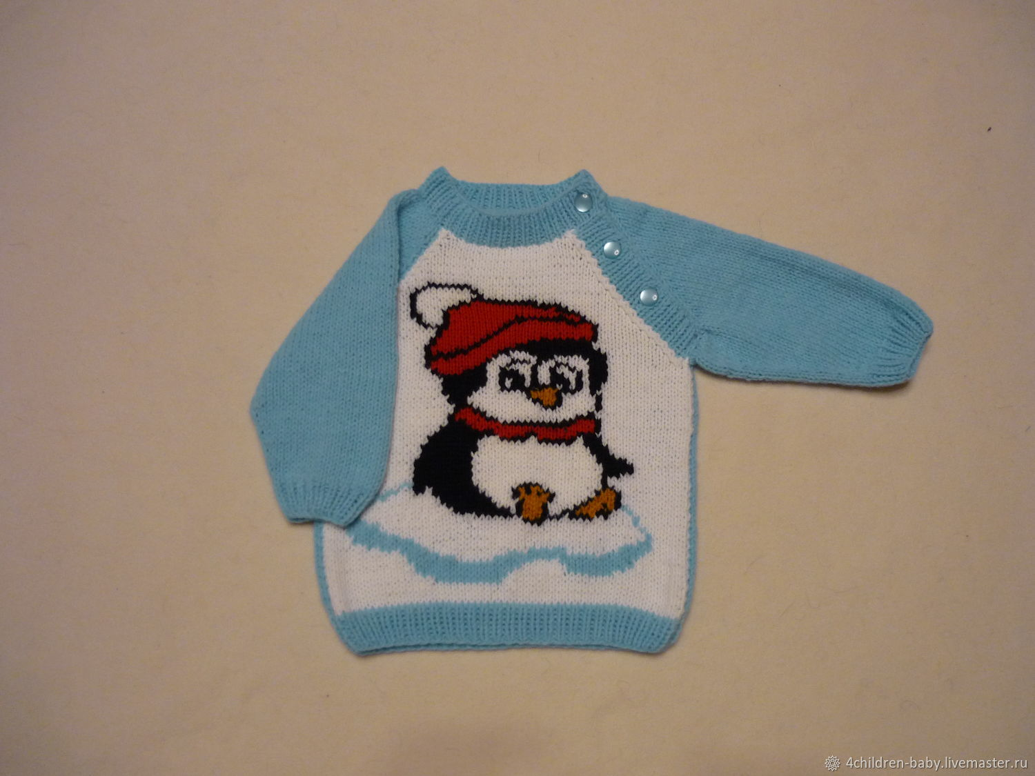 Sweater with a penguin, Sweater, Moscow,  Фото №1