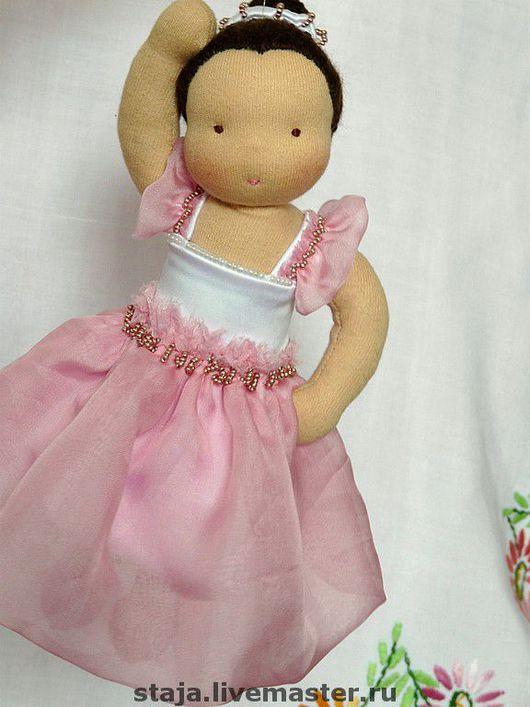 Вальдорфская игрушка ручной работы. Ярмарка Мастеров - ручная работа. Купить Портретная куколка для Адель. Handmade.