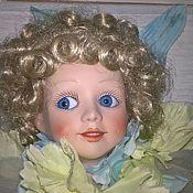 Портретная кукла ручной работы. Ярмарка Мастеров - ручная работа Портретная кукла: Фарфоровая кукла Василек. Handmade.