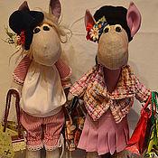 Куклы и игрушки ручной работы. Ярмарка Мастеров - ручная работа модница и шопоголик Валерия и Викторина. Handmade.