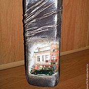 """Подарки к праздникам ручной работы. Ярмарка Мастеров - ручная работа Декор бутылок """"Настоящему мужчине"""". Handmade."""