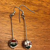 Винтаж handmade. Livemaster - original item Earrings