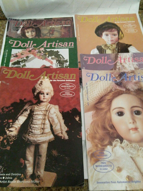 Винтаж: Журнал Doll Artisan ,1993-94 гг, Куклы винтажные, Владимир,  Фото №1