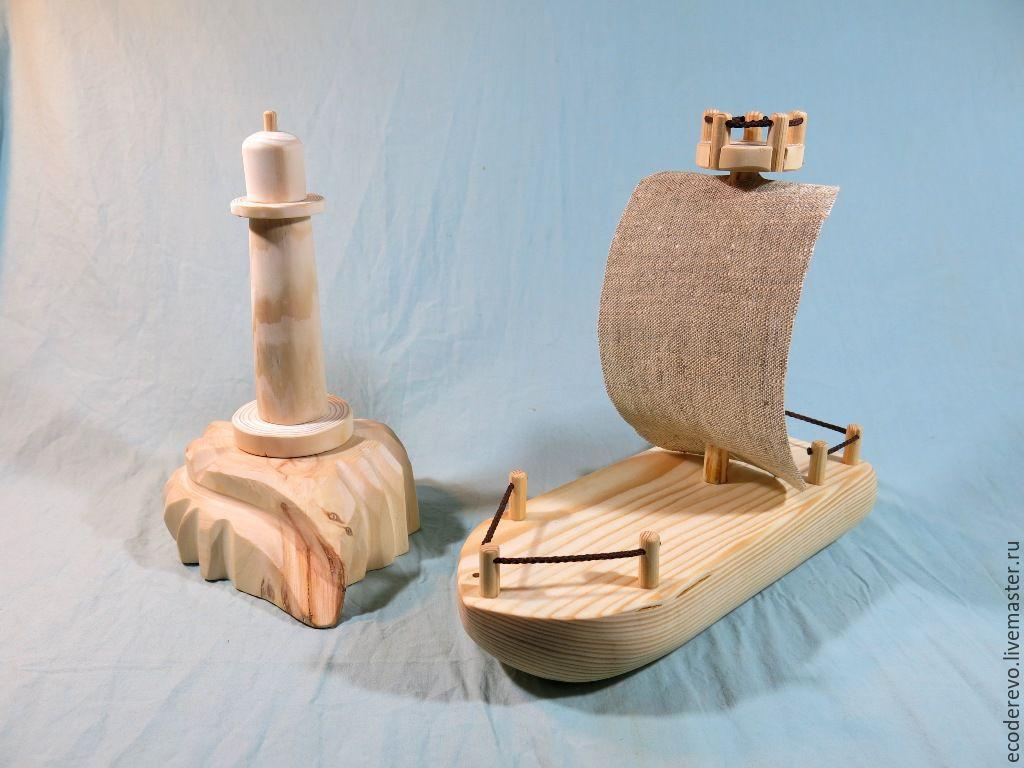 Игрушечные кораблики из дерева своими руками 72