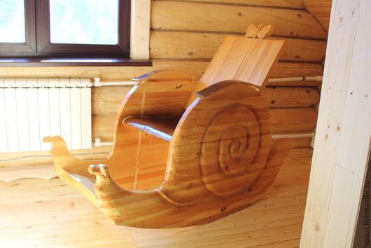 Мебель ручной работы. Ярмарка Мастеров - ручная работа. Купить Кресло-качалка. Handmade. Бежевый, дерево, креативный подарок, отдых