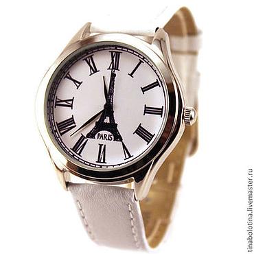 Украшения ручной работы. Ярмарка Мастеров - ручная работа Дизайнерские наручные часы Парижские. Handmade.