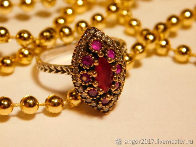 Rubin Ring 'Eastern', Rings, Sergiev Posad,  Фото №1