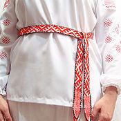 Русский стиль handmade. Livemaster - original item Russian belt
