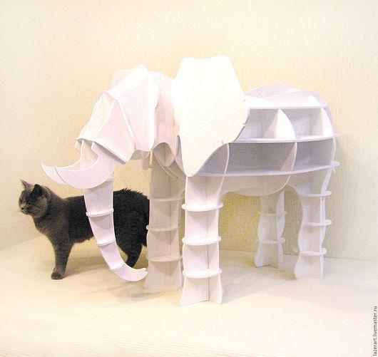 Статуэтки ручной работы. Ярмарка Мастеров - ручная работа. Купить Слоник. Handmade. Белый, слоник, для дома и интерьера, на удачу, в подарок