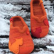 Обувь ручной работы. Ярмарка Мастеров - ручная работа Лисы стаями. Handmade.