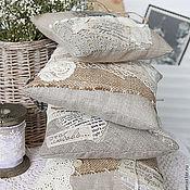 Свадебный салон ручной работы. Ярмарка Мастеров - ручная работа Подушечки для колец в винтажном стиле. Handmade.