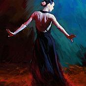 Картины и панно ручной работы. Ярмарка Мастеров - ручная работа Танец. Handmade.