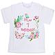 Футболки, майки ручной работы. Комплект футболок для мамы и малыша. Happy  Party Shop. Интернет-магазин Ярмарка Мастеров.