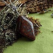 Украшения handmade. Livemaster - original item Pendant with red Jasper. Handmade.